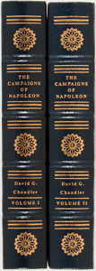 Books:World History, David G. Chandler. The Campaigns of Napoleon. Easton Press, 1991. Collector's edition. Two volumes. Fine....