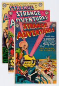 Silver Age (1956-1969):Science Fiction, Strange Adventures Group (DC, 1953-66) Condition: Average GD+....(Total: 46 Comic Books)