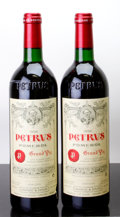 Red Bordeaux, Chateau Petrus 1996 . Pomerol. Bottle (2). ... (Total: 2 Btls. )