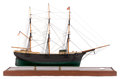 Maritime:Decorative Art, A SCALE SHIP MODEL OF A LARGE MAINE DOWNEASTER. AmericanMarine and Ship Model Gallery, Salem Massachusetts...