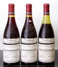 Red Burgundy, Echezeaux . 1987 Domaine de la Romanee Conti 4.8cm, lbsl,loxc, #05151 Bottle (1). Richebourg . 1987 Doma... (Total: 3Btls. )