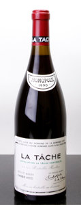 Red Burgundy, La Tache 1990 . Domaine de la Romanee Conti . bsl, sdc,#06500. Bottle (1). ... (Total: 1 Btl. )