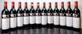 Red Bordeaux, Chateau Mouton Rothschild 1986 . Pauillac. 4bn, 6vhs, 1lbsl,1tl, 2wisl. Bottle (12). ... (Total: 12 Btls. )