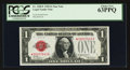 Small Size:Legal Tender Notes, Fr. 1500* $1 1928 Legal Tender Note. PCGS Choice New 63PPQ.. ...