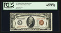 Small Size:World War II Emergency Notes, Fr. 2303* $10 1934A Hawaii Federal Reserve Note. PCGS Choice New63PPQ.. ...