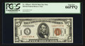 Small Size:World War II Emergency Notes, Fr. 2301* $5 1934 Hawaii Mule Federal Reserve Note. PCGS Gem New66PPQ.. ...