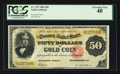 Large Size:Gold Certificates, Fr. 1197 $50 1882 Gold Certificate PCGS Extremely Fine 40.. ...