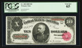 Large Size:Treasury Notes, Fr. 368 $10 1890 Treasury Note PCGS Gem New 65.. ...