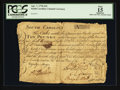 Colonial Notes:South Carolina, South Carolina April 7, 1770 £10 PCGS Apparent Fine 15.. ...