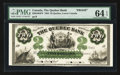 Canadian Currency: , Quebec, LC- The Quebec Bank $2 Jan. 2 1863 Ch # 620-34-04FP FaceProof. ...