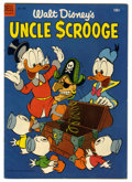 Golden Age (1938-1955):Cartoon Character, Four Color #495 Uncle Scrooge (Dell, 1953) Condition: VG/FN. CarlBarks story, cover, and art. Overstreet 2006 VG 4.0 value ...