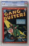 """Golden Age (1938-1955):Crime, Gang Busters #2 Davis Crippen (""""D"""" Copy) pedigree (DC, 1948) CGC VF 8.0 Off-white pages. Dan Barry cover and art. George Pap..."""