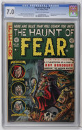 Golden Age (1938-1955):Horror, Haunt of Fear #18 (EC, 1953) CGC FN/VF 7.0 Cream to off-whitepages. Ray Bradbury biography and story adaptations. Graham In...