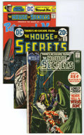 Bronze Age (1970-1979):Horror, House of Secrets/Swamp Thing Group (DC, 1971-76) Condition: AverageVF. Included are House of Secrets #93, 106, and 140 ... (Total: 4Comic Books)