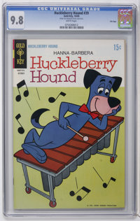 Huckleberry Hound #39 File Copy (Gold Key, 1969) CGC NM/MT 9.8 White pages. Overstreet 2006 NM- 9.2 value = $38. CGC cen...