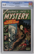 "Golden Age (1938-1955):Horror, Journey Into Mystery #12 Davis Crippen (""D"" Copy) pedigree (Atlas,1953) CGC FN 6.0 Off-white to white pages. Dick Briefer a..."