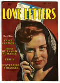 "Golden Age (1938-1955):Romance, Love Letters #11 Davis Crippen (""D"" Copy) pedigree (Quality, 1951)Condition: VF+. Overstreet 2006 VF 8.0 value = $54; VF/NM..."