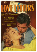 """Golden Age (1938-1955):Romance, Love Letters #12 Davis Crippen (""""D"""" Copy) pedigree (Quality, 1951)Condition: VF. Overstreet 2006 VF 8.0 value = $42. From..."""