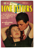 "Golden Age (1938-1955):Romance, Love Letters #19 Davis Crippen (""D"" Copy) pedigree (Quality, 1952)Condition: FN/VF. Overstreet 2006 FN 6.0 value = $24; VF ..."