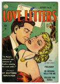 "Golden Age (1938-1955):Romance, Love Letters #25 Davis Crippen (""D"" Copy) pedigree (Quality, 1952) Condition: VF...."