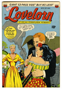 "Lovelorn #8 Davis Crippen (""D"" Copy) pedigree (ACG, 1950) Condition: NM. Overstreet 2006 NM- 9.2 value = $70..."