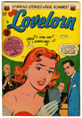 "Golden Age (1938-1955):Romance, Lovelorn #40 Davis Crippen (""D"" Copy) pedigree (ACG, 1953)Condition: VF. Overstreet 2006 VF 8.0 value = $50. From theCri..."