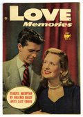 "Golden Age (1938-1955):Romance, Love Memories #3 Davis Crippen (""D"" Copy) pedigree (Fawcett, 1950) Condition: VF/NM. Overstreet 2006 VF/NM 9.0 value = $72; ..."