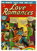 "Golden Age (1938-1955):Romance, Love Romances #16 Davis Crippen (""D"" Copy) pedigree (Marvel, 1951)Condition: VF/NM. Overstreet 2006 VF/NM 9.0 value = $69; ..."