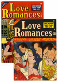 """Golden Age (1938-1955):Romance, Love Romances #25-26 Group Davis Crippen (""""D"""" Copy) pedigree(Marvel, 1952-53). Included are #25 (VG) and 26 (VF-). Approxim...(Total: 2 Comic Books)"""