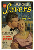 "Golden Age (1938-1955):Romance, Lovers #28 Davis Crippen (""D"" Copy) pedigree (Atlas, 1950)Condition: VF-. Photo cover. Overstreet 2006 VF 8.0 value = $47...."