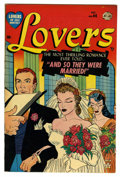 "Golden Age (1938-1955):Romance, Lovers #44 Davis Crippen (""D"" Copy) pedigree (Atlas, 1952)Condition: VF. Overstreet 2006 VF 8.0 value = $40. From theCri..."