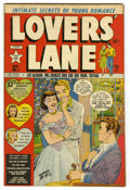 "Golden Age (1938-1955):Romance, Lovers' Lane #1 Davis Crippen (""D"" Copy) pedigree (Lev Gleason,1949) Condition: VF/NM. Charles Biro cover. Fred Guardineer ..."