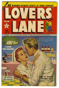 "Golden Age (1938-1955):Romance, Lovers' Lane #3 Davis Crippen (""D"" Copy) pedigree (Lev Gleason,1950) Condition: FN/VF. Painted cover. Overstreet 2006 FN 6...."