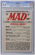 "Golden Age (1938-1955):Humor, Mad #12 (EC, 1954) CGC FN- 5.5 Off-white to white pages. Archie parody with Bill Elder art. ""From Here To Eternity"" parody w..."