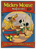 Magazines:Humor, Mickey Mouse Magazine #11 (K. K. Publications, Inc., 1936) Condition: VF. This issue features the first Pluto and Mickey cov...