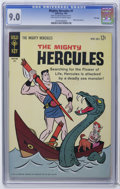 Silver Age (1956-1969):Adventure, Mighty Hercules #1 and 2 CGC File Copy Group (Gold Key, 1963) Condition: VF/NM. Includes CGC VF/NM 9.0 copies of #1 (bac... (Total: 2 Comic Books)