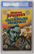 Golden Age (1938-1955):Non-Fiction, Picture Stories From American History #4 Gaines File pedigree 3/12(EC, 1947) CGC VF+ 8.5 Off-white pages. Abe Lincoln cover...