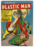 Golden Age (1938-1955):Superhero, Plastic Man #29 (Quality, 1951) Condition: FN+. Plas goes South of the border. Overstreet 2006 FN 6.0 value = $138; VF 8.0 v...