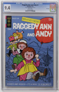 Bronze Age (1970-1979):Cartoon Character, Raggedy Ann and Andy #1 File Copy (Gold Key, 1971) CGC NM 9.4 Whitepages. Overstreet 2006 NM- 9.2 value = $38. CGC census 9...