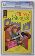Bronze Age (1970-1979):Humor, Three Stooges #55 File Copy (Gold Key, 1972) CGC NM 9.4 Whitepages. Photo cover. Last Gold Key issue. Great page quality. O...