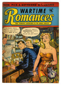 "Wartime Romances #17 Davis Crippen (""D"" Copy) pedigree (St. John, 1953) Condition: FN. Matt Baker cover art. O..."
