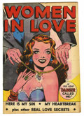 """Golden Age (1938-1955):Romance, Women in Love #1 Davis Crippen (""""D"""" Copy) pedigree (Fox Features Syndicate, 1949) Condition: VF-. Overstreet 2006 VF 8.0 val..."""