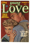 "Golden Age (1938-1955):Romance, Young Love #40 Davis Crippen (""D"" Copy) pedigree (Prize, 1952)Condition: NM-. Photo cover. Overstreet 2006 NM- 9.2 value = ..."