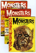 Magazines:Horror, Famous Monsters of Filmland and Others Group (Warren/Others, 1960-62) Condition: VG. Includes Famous Monsters of Filmland... (Total: 5 Comic Books)