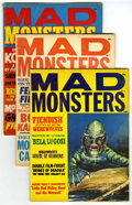 Magazines:Horror, Mad Monsters #1-6 Group (Charlton, 1961-63) Condition: Average VG+. Contains #1 (Steve Ditko cover and interior art), 2, 3, ... (Total: 6 Comic Books)