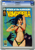 Magazines:Horror, Vampirella #75 (Warren, 1979) CGC NM/MT 9.8 Off-white to white pages. Jose Gonzalez cover and art. Jose Ortiz art. Overstree...