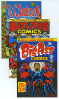 Bronze Age (1970-1979):Alternative/Underground, R. Crumb Underground Comix, Group of 6 (Various, 1969-77). The father of Underground Comix! Titles include: Big Ass Comics... (Total: 6 Comic Books)