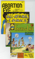 """Bronze Age (1970-1979):Alternative/Underground, """"Educational"""" Underground Comix, Group of 7 (Various, 1972-76) Condition: Average VF-. Read 'em and learn with this fun grou... (Total: 7 Comic Books)"""