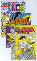 """Bronze Age (1970-1979):Alternative/Underground, """"Cloud Comix"""" and Other Undergrounds, Group of 6 (Various, 1971-72). These comics include work by early contributors to Na... (Total: 6 Comic Books)"""