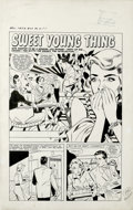 "Original Comic Art:Complete Story, Matt Baker and Vince Colletta - True Bride-to-Be-Romances #29,Complete 5-page story ""Sweet Young Thing"" Original Art (Harvey,..."